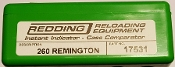17531 Redding Instant Indicator 260 Remington (no indicator)
