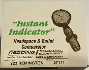 27111 Redding Instant Indicator 223 Remington 5.56x45mm