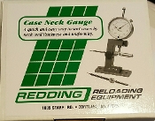 26400 Redding Case Neck Gauge