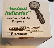 27531 Redding Instant Indicator 260 Remington