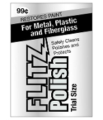 Flitz Metal Polish Paste  2 grams - FREE SHIPPING